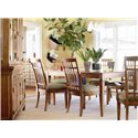 Thomasville® Bridges 2.0 Dining Side Chair - Shown with Leg Table