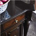 Thomasville® Brompton Hall Credenza w/ Granite Top - Detail of granite top