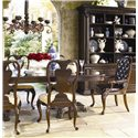 Thomasville® Brompton Hall 7-Piece Double Pedestal Dining Table Set - Alternate view