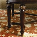 Thomasville® Brompton Hall Rectangular Cocktail Table - Detail of carvings on legs