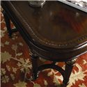 Thomasville® Brompton Hall Rectangular Cocktail Table - Detail of table top