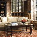 Thomasville® Brompton Hall Rectangular Cocktail Table - Shown in living room