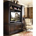 Thomasville® Brompton Hall Media Console with Media Storage - Shown with hutch