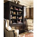 Thomasville® Brompton Hall Media Console with Media Storage - Shown as bookcase