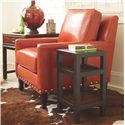 Thomasville® Canyon Grove Square Accent Table w/ Glass Insert Top - Shown in Room Setting