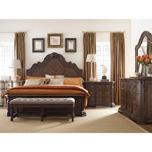 Thomasville® Casa Veneto Queen Bedroom Group