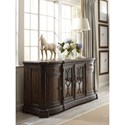 Thomasville® Casa Veneto Stella Buffet and Hutch with Wine Storage and Display Lighting - Shown Without Hutch