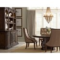 Thomasville® Casa Veneto Stella Buffet and Hutch with Wine Storage and Display Lighting