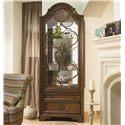 thomasville® cassara curio cabinet w/ glass shelves - louis mohana