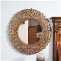 Thomasville® Cassara Round Mirror w/ Glass Plate - Shown in Room Setting