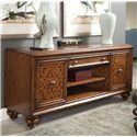 Thomasville® Cassara Media Console w/ 5 Plus Outlet - Shown in Room Setting
