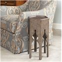 Thomasville® Cassara Side Table w/ Metal Insert Top - Shown in Room Setting