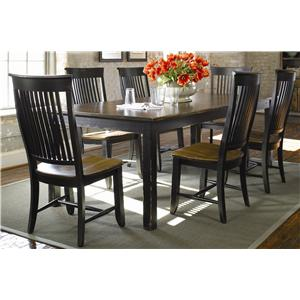 Thomasville Color Café Custom Dining Customizable Rectangular - Custom dining room table and chairs