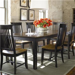 Thomasville® Color Café - Custom Dining <B>Customizable</B> Rectangular Table