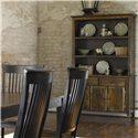 Thomasville® Color Café - Custom Dining <B>Customizable</B> China Cabinet - Item Number: 4991+5996