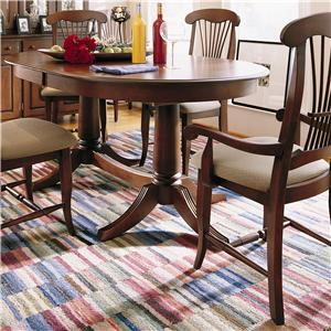 Thomasville® Color Café - Custom Dining Customizable Upholstered Arm Chair