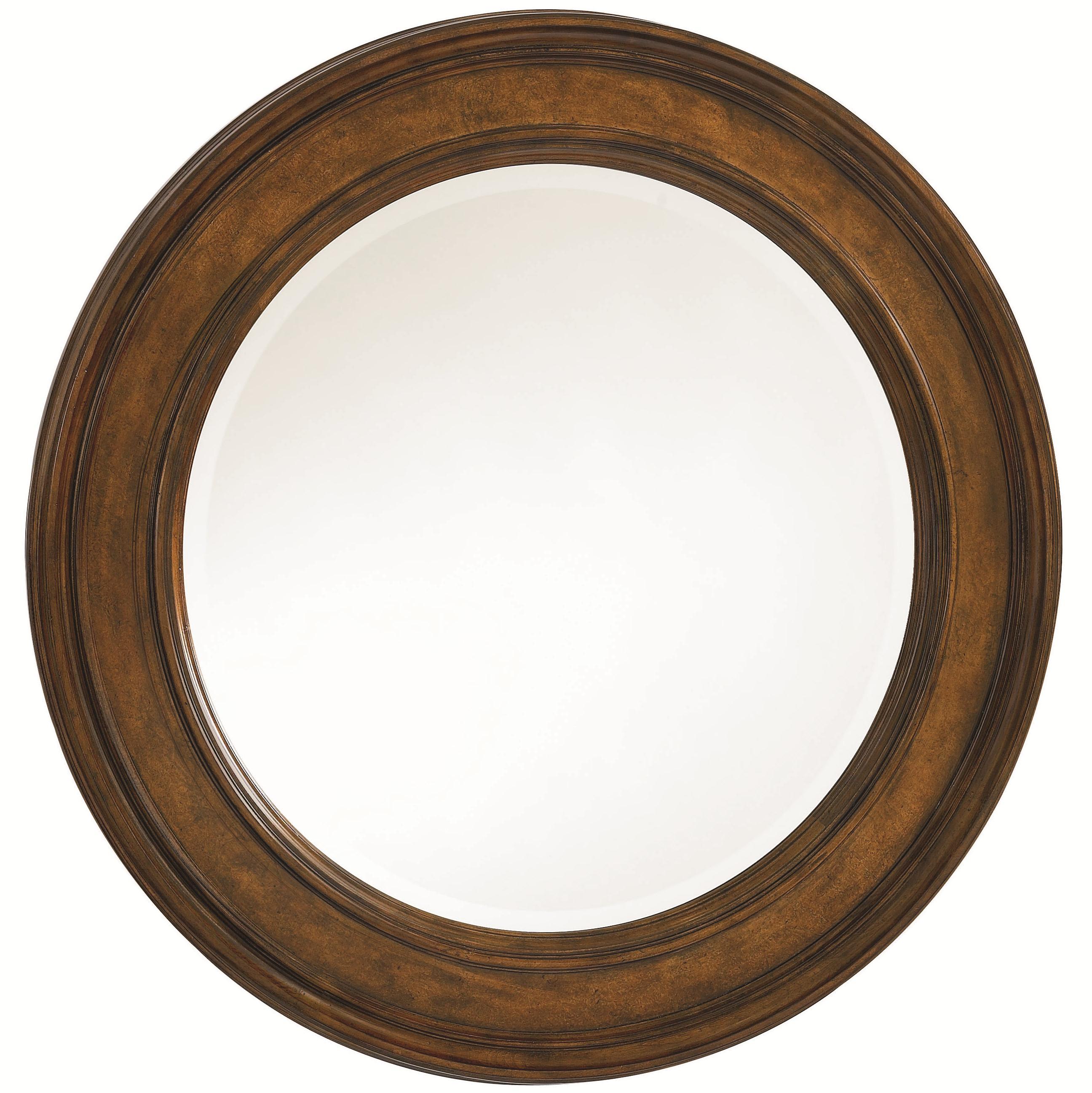 Thomasville® Deschanel Round Mirror - Item Number: 46711-230