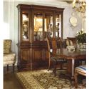 Thomasville® Deschanel China Cabinet w/ 3 Halogren Can Lights - Shown in Room Setting