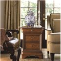 Thomasville® Deschanel Chair Side Chest w/ Drawers - Shown in Room Setting