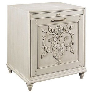 Thomasville® Elements & Origins - Scandia Rose & Thistle Charging Table