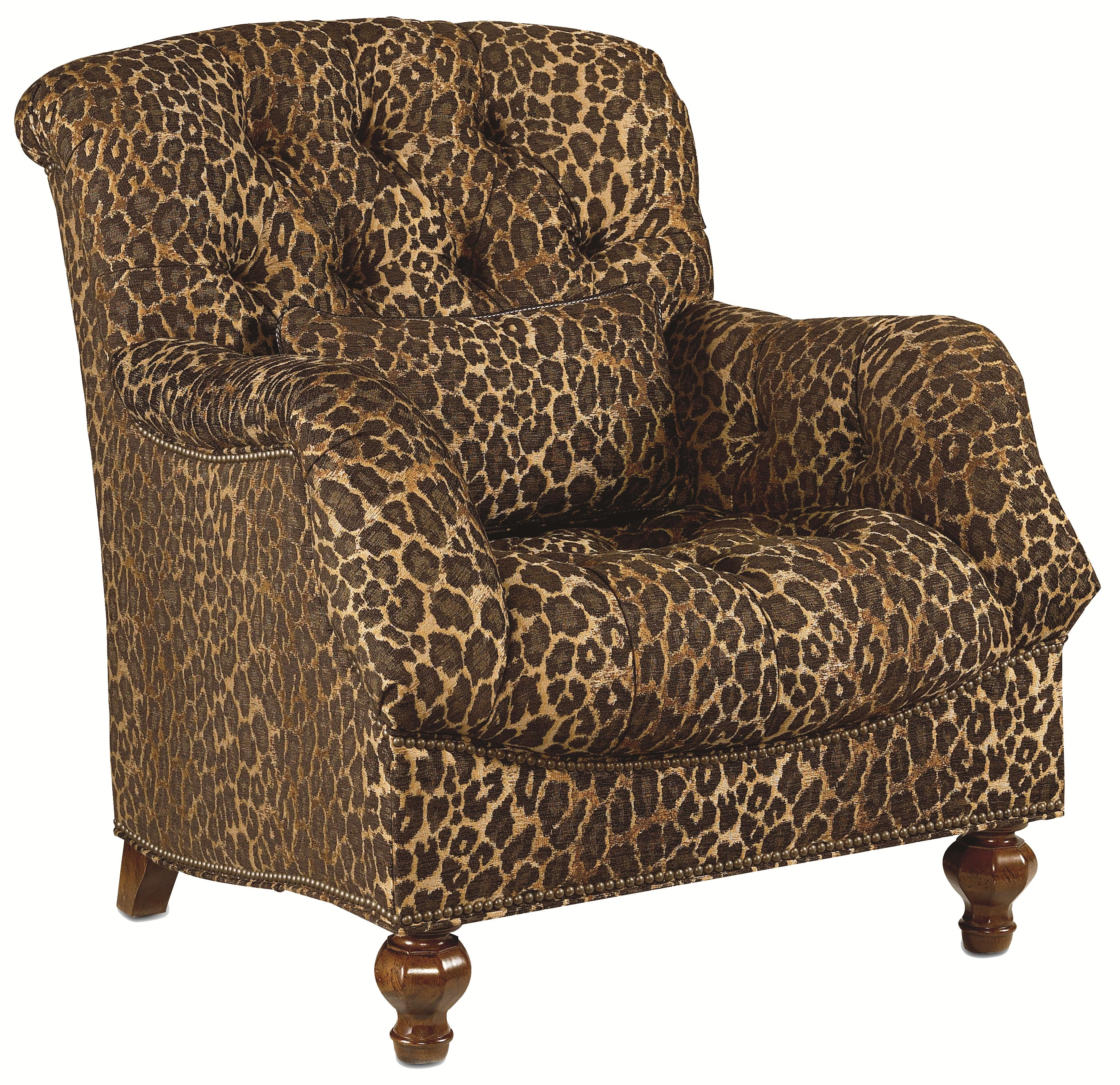 Thomasville® Ernest Hemingway 462 Deep Tufted Walden Chair With Nail Head  Trim   Sprintz Furniture   Upholstered Chair Nashville, Franklin, ...