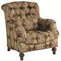 Thomasville® Ernest Hemingway 462 Deep Tufted Walden Chair with Nail Head Trim