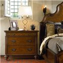 Thomasville® Ernest Hemingway  Swahili Bachelor's Chest  w/ 3 Drawers - Swahili Bachelors Chest Shown in Room Setting