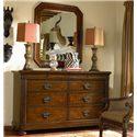 Thomasville® Ernest Hemingway  Malawi Dresser and Landscape Mirror - Item Number: 46211-125+220