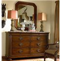 Thomasville® Ernest Hemingway  Malawi Drawer Dresser w/ Marble Top - Malawi Dresser Shown with Malawi Landscape Mirror