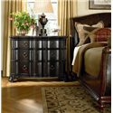 Thomasville® Ernest Hemingway  Barecelona Bachelors Chest w/ 3 Drawers - Shown with Sleigh Bed