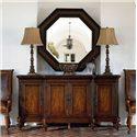 Thomasville® Ernest Hemingway  Steppe Octagonal Mirror - Steppe Octagonal Mirror Shown with Buffet