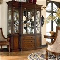 Thomasville® Ernest Hemingway  Green Hills China Cabinet - Green Hills China Shown in Room Setting
