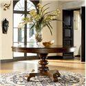 Thomasville® Ernest Hemingway  Rift Valley Round Dining Table - Rift Valley Dining Table Shown in Room Setting