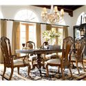 Thomasville® Ernest Hemingway  7 Piece Table and Side Chair Set
