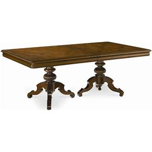 Thomasville® Ernest Hemingway  Castillian Double Pedestal Table