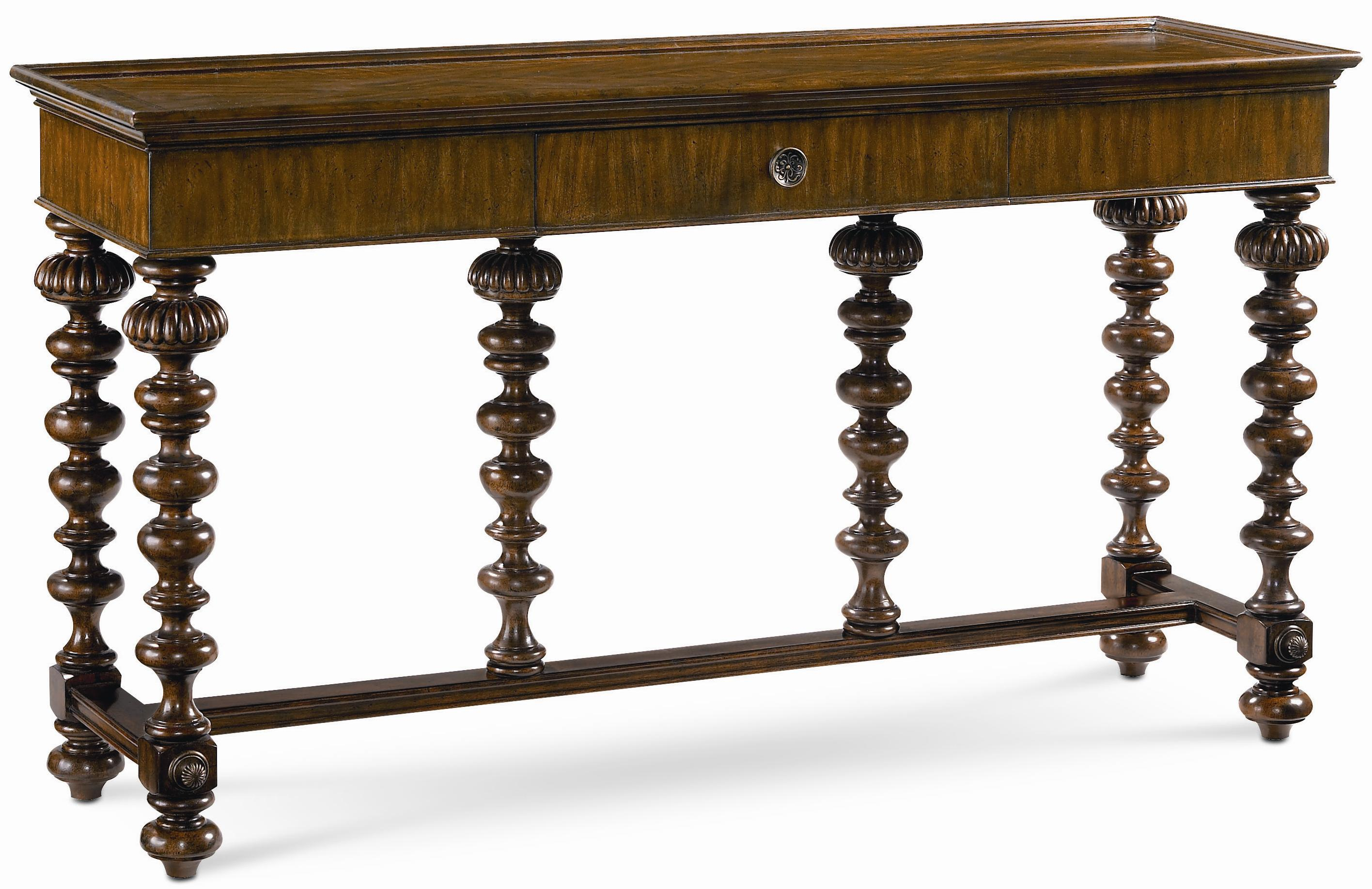 Thomasville Ernest Hemingway 720 Basque Sofa Table w