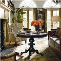 Thomasville® Ernest Hemingway  Lion Hill Round Center Table - Lion Hill Center Table Shown in Room Setting