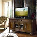 Thomasville® Ernest Hemingway  Nairobi Television Console w/ 4 Doors - Nairobi Media Console Shown in Room Setting