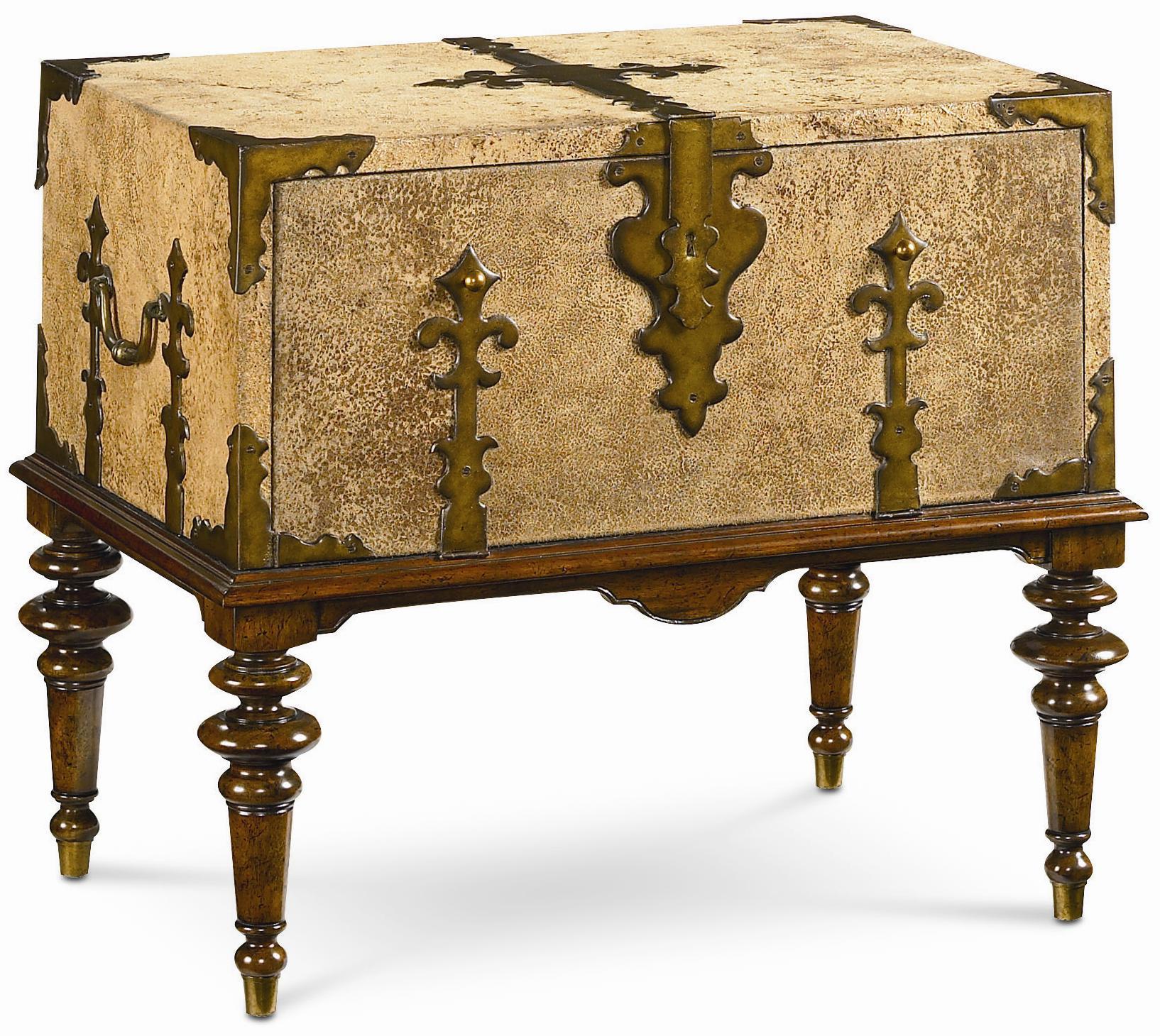 Thomasville® Ernest Hemingway Traveleru0027s Box On Stand   Item Number: ...