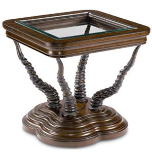 Thomasville® Ernest Hemingway  Trophy Horn Table