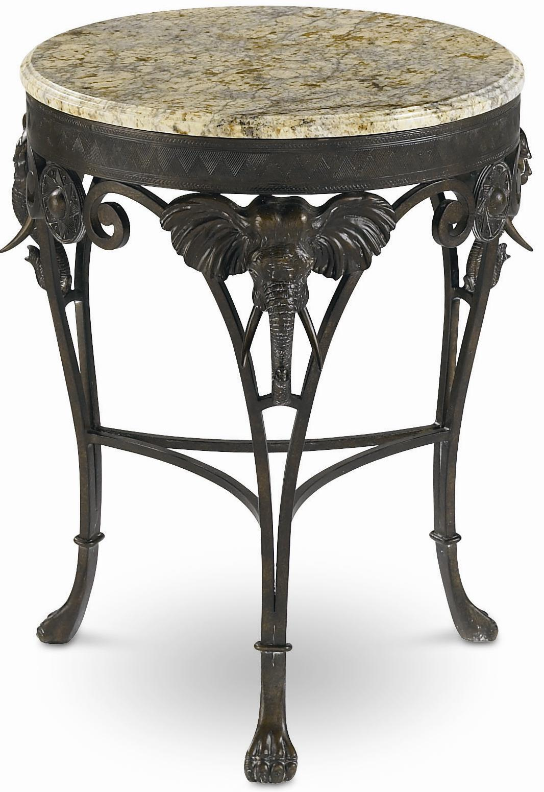 Thomasville® Ernest Hemingway  Elephant Accent Table - Item Number: 46291-237