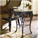 Thomasville® Ernest Hemingway  Elephant Accent Round Table - Elephant Accent Table Shown in Room Setting