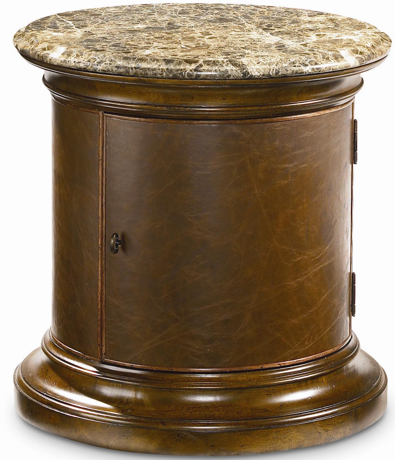 Thomasville® Ernest Hemingway  Tribal Drum Table - Item Number: 46291-330