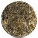Thomasville® Ernest Hemingway  Tribal Drum Round Table - Round Marble Top