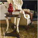 Thomasville® Ernest Hemingway  Hunt Club Round Accent Table - Hunt Club Accent Table Shown in Room Setting