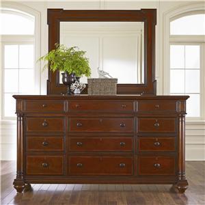 Thomasville® Fredericksburg Dresser and Mirror Combination