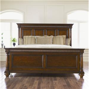 Thomasville Fredericksburg King Panel Bed with Turned Columns BigFurnitureWebsite Headboard