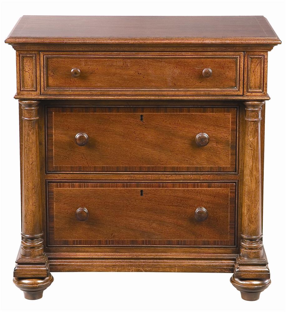 Thomasville® Fredericksburg Nightstand with Three Drawers ...