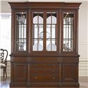 Thomasville® Fredericksburg Breakfront China Cabinet with Touch-Dimmer Lighting