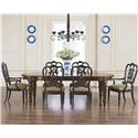 Thomasville® Fredericksburg Seven Piece Dining Set with Turned Legs
